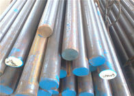 Engineering Structural Solid Steel Bar , Round Shaped Solid Metal Rod