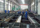 8m 10m Length I Beam Steel 90 - 120MM Leg Height For Bridge Engineering