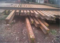Super Durability Crane Rail Sections , Low Height Crane Railway Track Section
