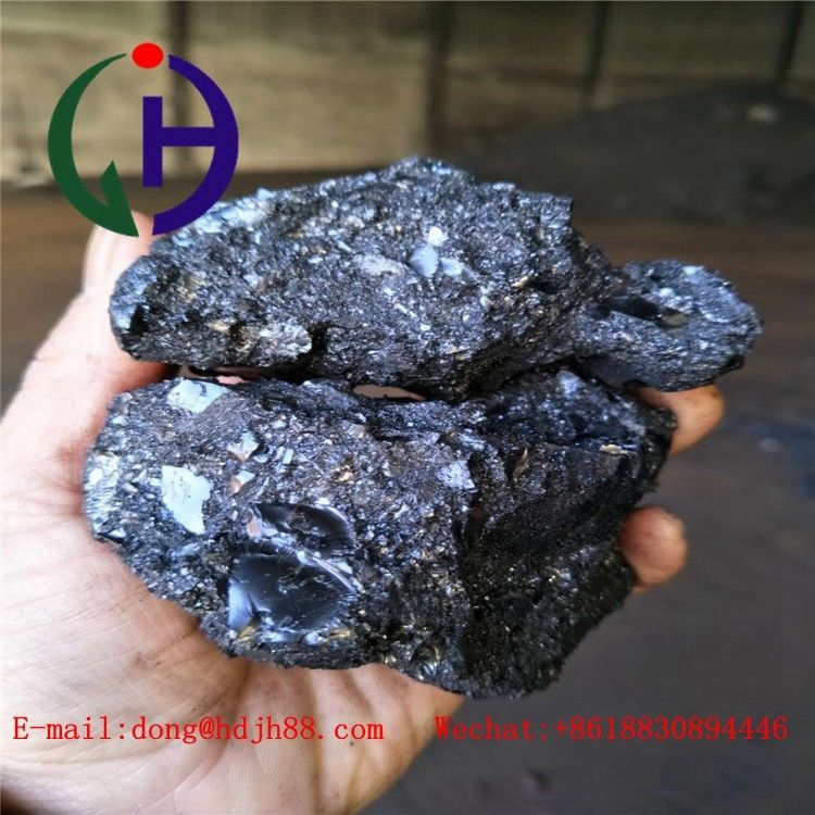 S.F 75-80 Centigrate Degree Coal Tar Pitch With Q.I From 6% - 14%